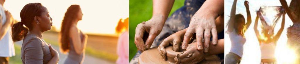 stage yoga, ateliers holistique de méditation créative