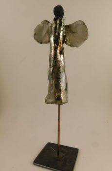 ange petit modele en raku