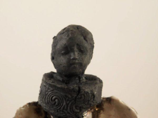 ange en céramique RAKU